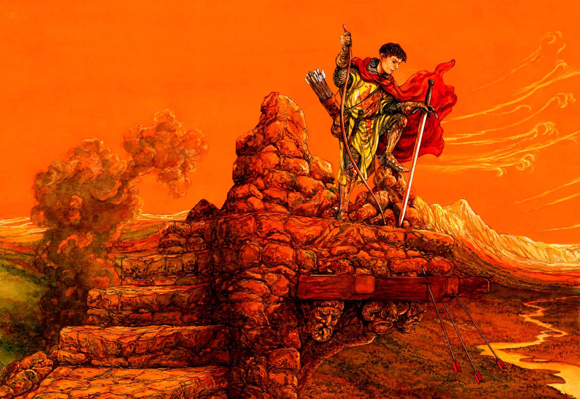 Strijd voor de koning © Ruud Bruijn